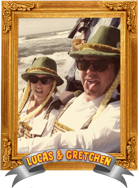 Lucas and Gretchen